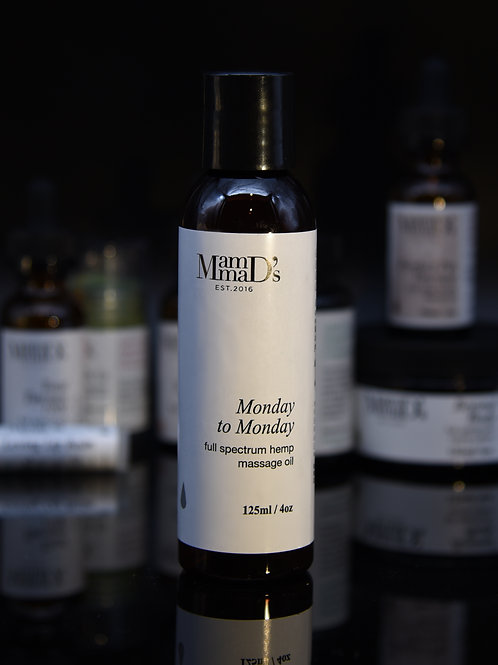 Monday to Monday Massage Oil