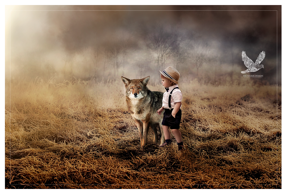 The boy and wolf.