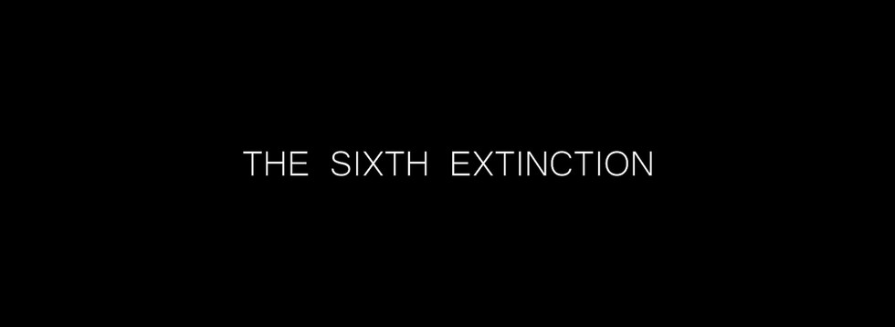 Teaser for video clip 'The Sixth Extinction'