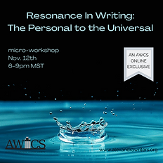 Resonance In Writing_ The Personal to th