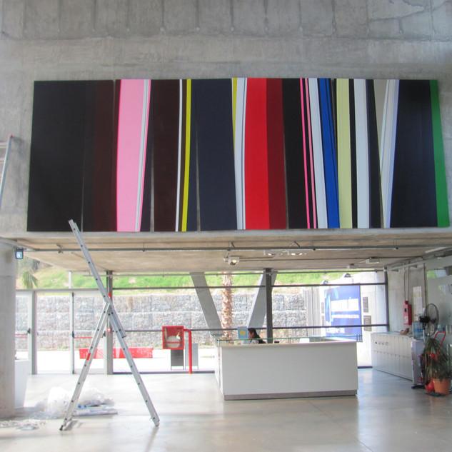 CANTABILE obra site-specific -700cm x 26