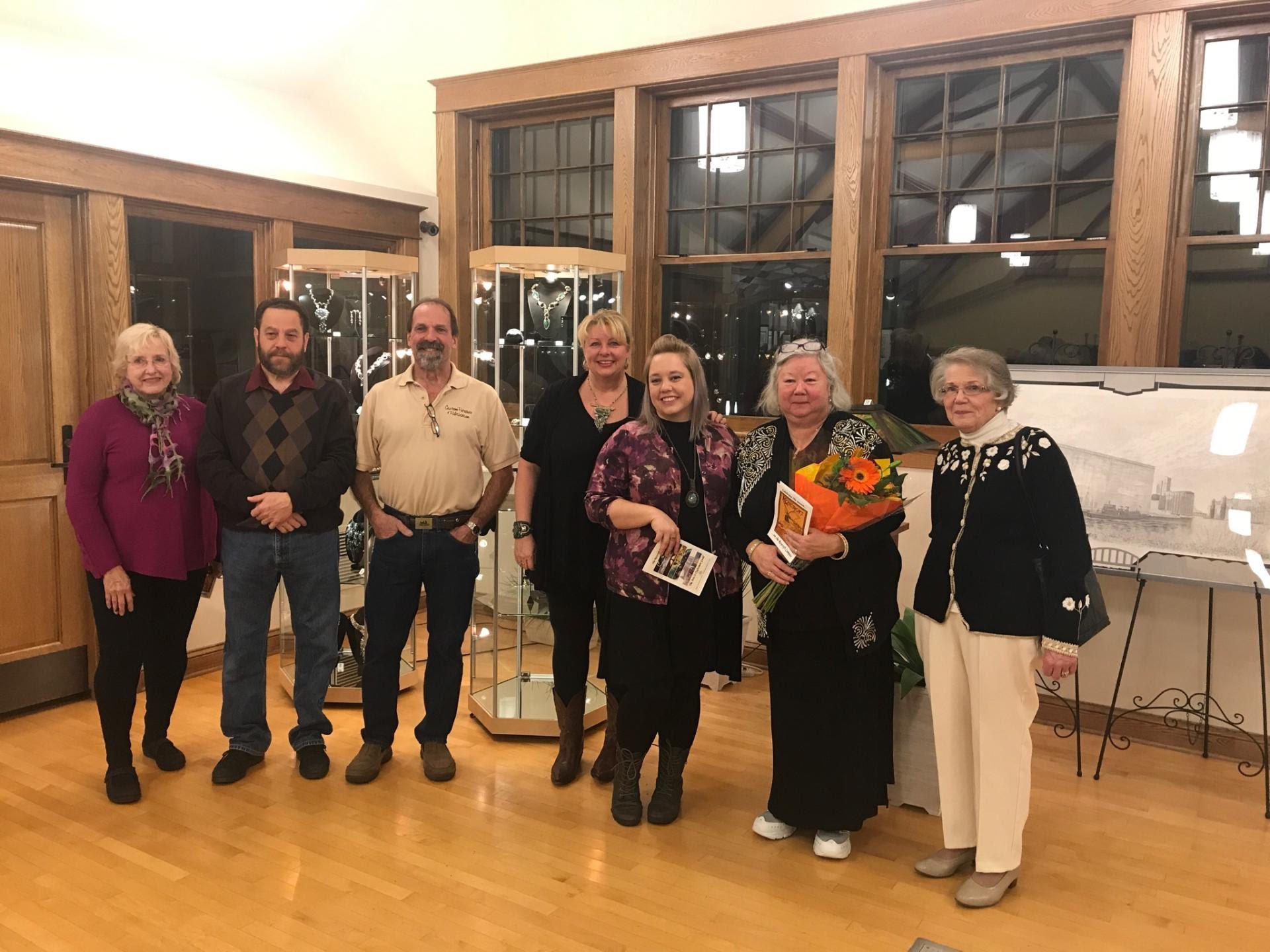 Chur Gallery Reception November 2017