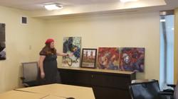 Paintings by MEA Bossert