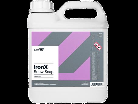 IronX Snow Soap.4L展開開始します!