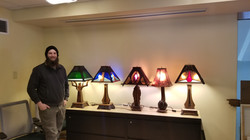 Lamps by Mark Wood