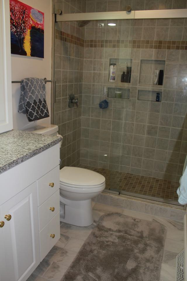 Custom Bathroom with Shower