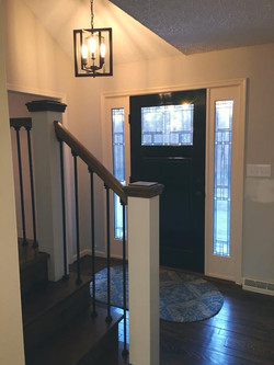 Custom Renovated Foyer