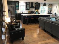 Kitchen Living Room Open Floor