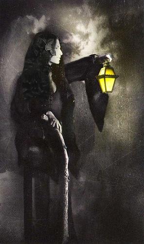 Shekhinah Mounainwater as the Lady with The Lamp
