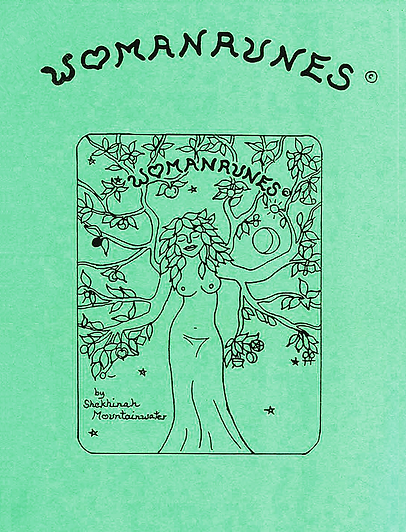 Womanrunes Booklet Cover