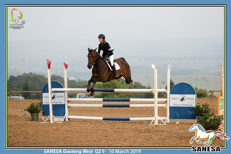 SANESA Gauteng West Q2 9 - 10 Mrt 19 High school Showjumping (E185)