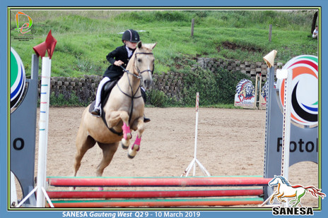 SANESA Gauteng West Q2 9 - 10 Mrt 19 Primary school Showjumping (E185)