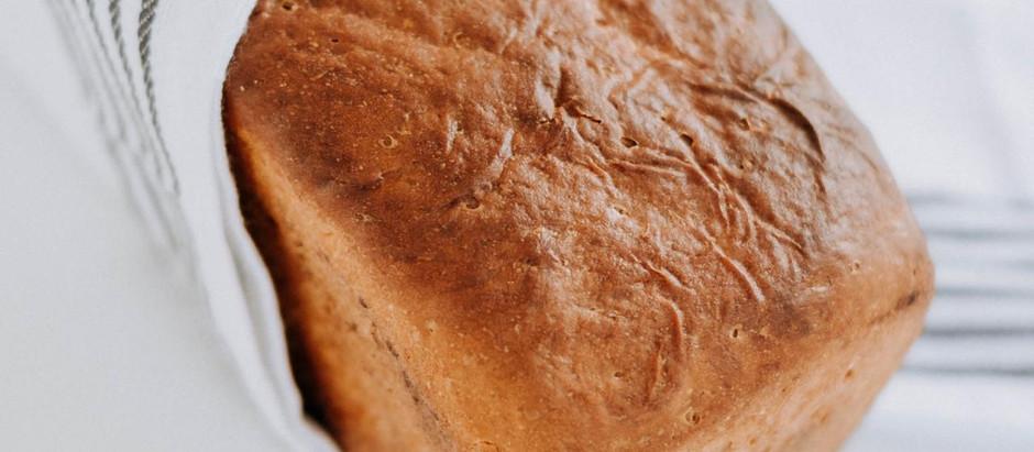 Farm style bread loaf