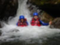 Schluchtenwandern-Familienurlaub-Kinder-outdoor-Tour-Gosau-