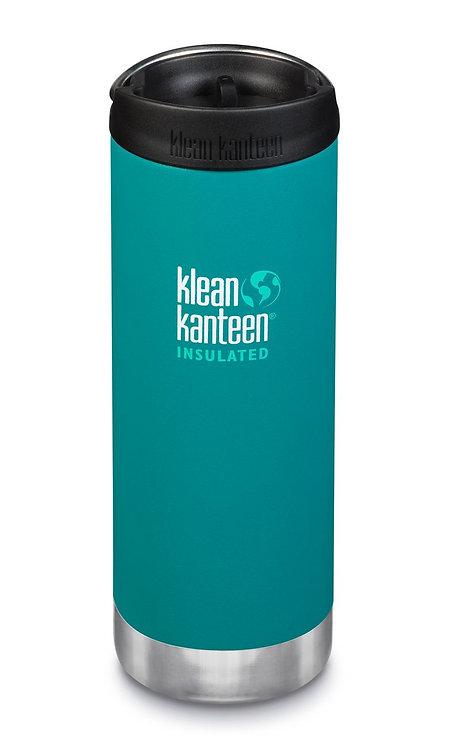 Edelstahl Klean Kanteen Isolierflasche TKWide Café Cap