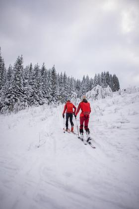 Winterlandschaft - Atomic Backland Skitour