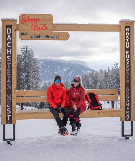 Schöner Gruß aus dem Winterparadies Dachstein West