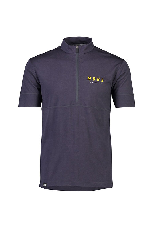 Mons Royale Cadence Half Zip T Men
