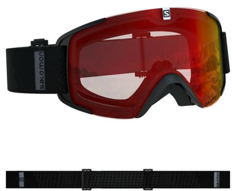 Salomon X-View Skibrille Schwarz
