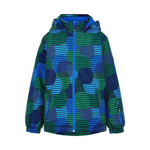 Color Kids Winterjacke blau/grün