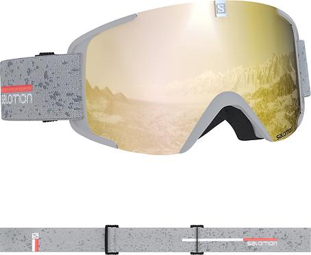 Salomon X-View Skibrille Weiß