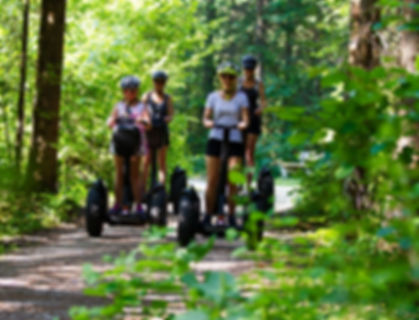 guided family Segwaytours Gosau-Hallstatt