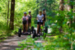 guided family Segway tour-Leading Family Hotel & Resort Dachsteinkoenig