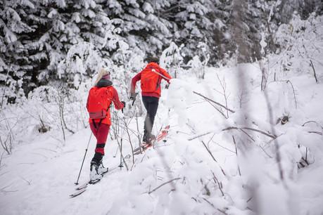 Dachstein West Atomic Backland Skitourenstrecke