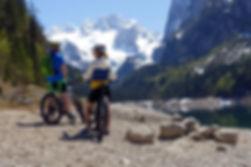 Fahrrad-Verleih-ebike verleih-Gosausee-Urlaub in Gosau-Cooee alpin Hotel Dachstein-Salzkammergut