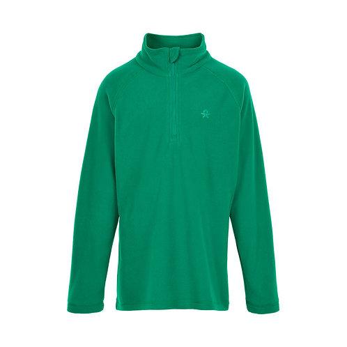 Color Kids Fleece Pullover grün