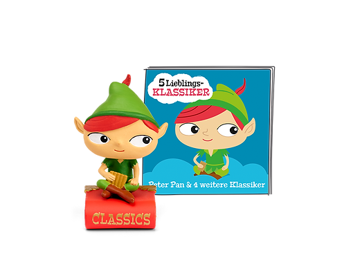 Tonies® Peter Pan und 4 weitere Klassiker