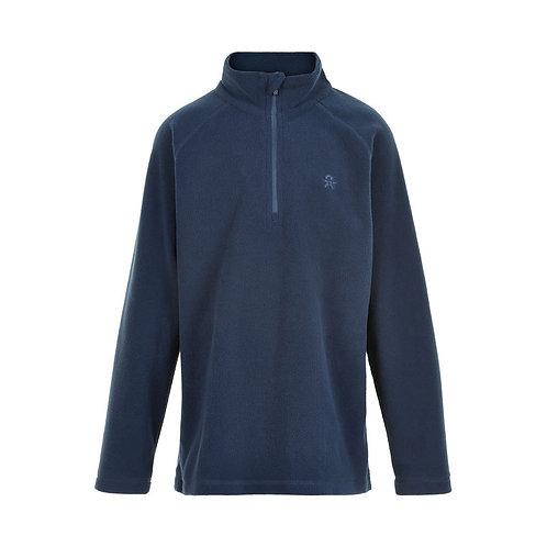 Color Kids Fleece Pullover dunkelblau