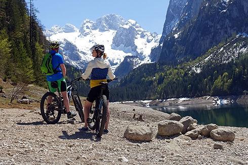 E-Bike Verleih Gosausee, Fahrrad Verleih Gosau, Mountainbike Verleih Dachstein West, radfahren im Salzkammergut