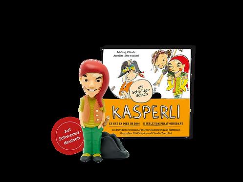 Tonies® Kasperli - Es hät en Dieb im Zoo! / D Insle vom Pirat Ohnibart