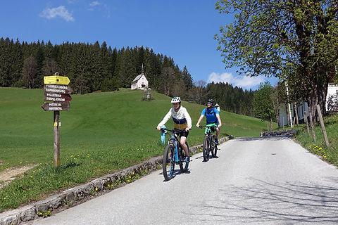 Mit dem Verleih E-Bike durch Gosau, Bike Verleih Gosau, radfahren in Gosau
