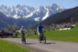 Radtour-Gosautal-Mountainbike Verleih-ebike ausleihen-Fahrradverleih-Checkpoint Sport-Gosau-Dachstein