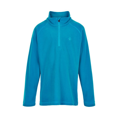 Color Kids Fleece Pullover blau
