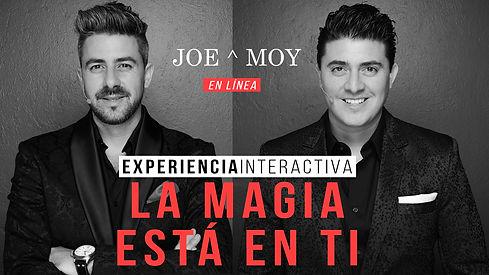 Show virtual de los magos Joe & Moy