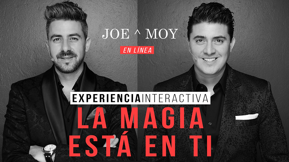 Show virtual de los magos joe y moy