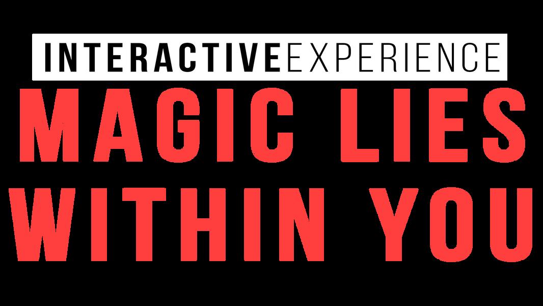 Joe & Moy   Logo    Magic lies within you