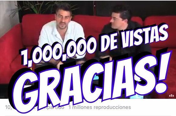 """Joe & Moy rebasan el1 millón de vistas en elvideo """"MAGIA INTERACTIVA"""""""
