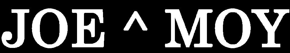 Joe & Moy   Logo    W
