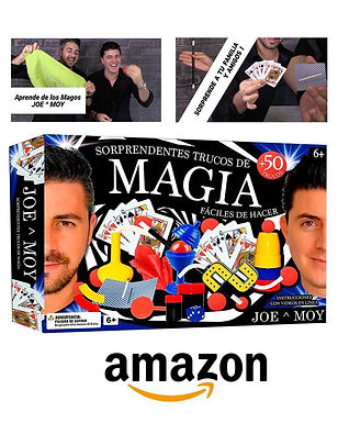 Joe & Moy sacan su juego de magia para niños!