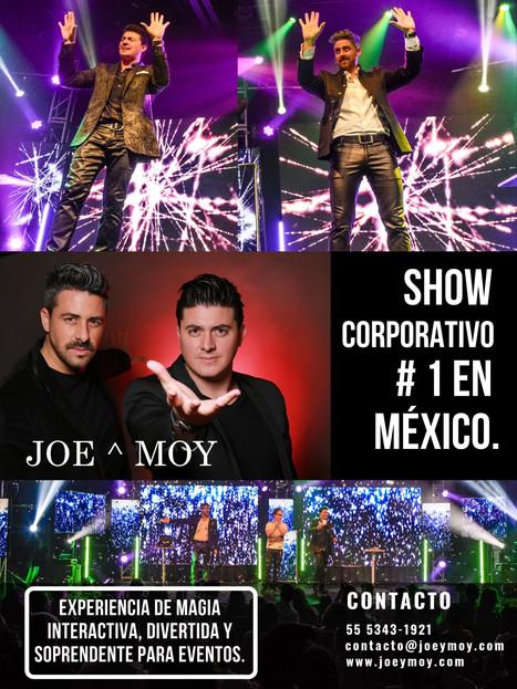 Show empresarial #1 en México