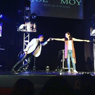 Joe y Moy sorprenden en el teatro Interlomas