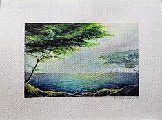 cote d'Azur aquarelle paysage valerie Albertosi.jpg