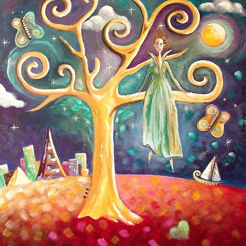 Figuratifs - l'arbre de lumière