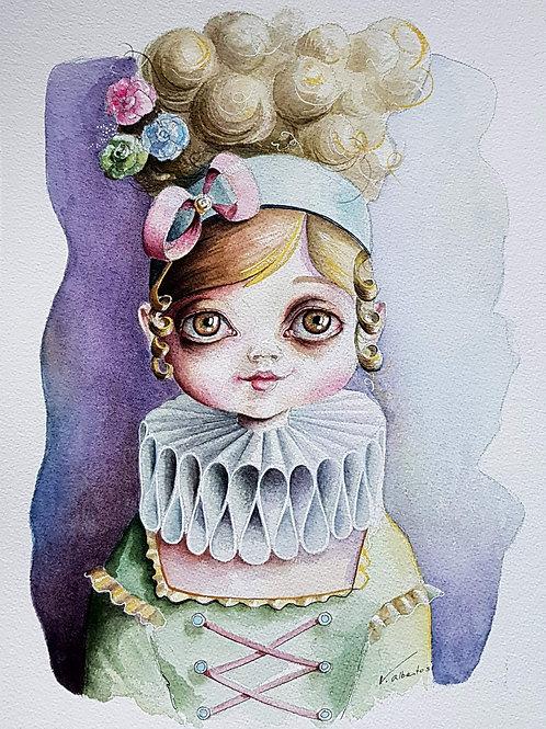 Illustration - Marie -Antoinette