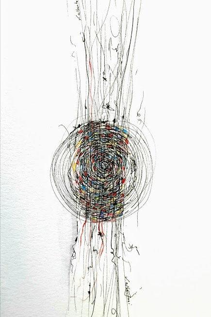 Abstrait - tissage N°196