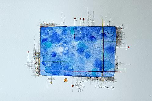 abstrait peinture aquarelle painting abstraction watercolor valerie albertosi